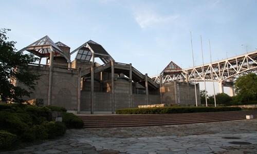 2014.5.7 瀬戸大橋と夕陽 (4).JPG