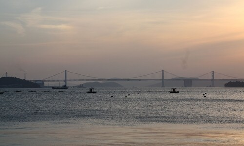 2014.5.7 瀬戸大橋と夕陽 (5).JPG