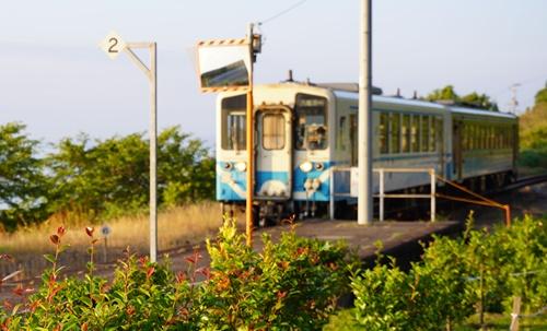 2019.6.11 下灘の夕陽 4.JPG