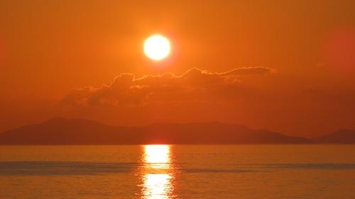 2019.6.11 下灘の夕陽 9.JPG
